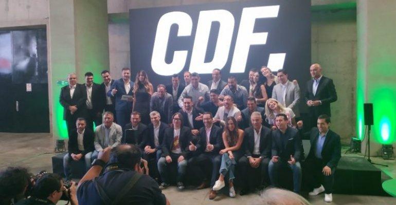 La Mañana estuvo en el lanzamiento de CDF - Chilevisión
